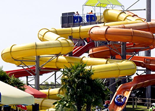 Waterslides and tubes